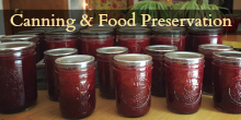 Widget Canning & Food Preservation