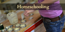 Homeschooling button