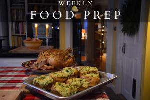Food prep blog sidebar